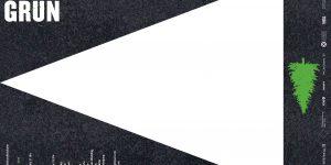 Asphalt Grün Plakat