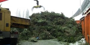 Asphalt Grün recycling
