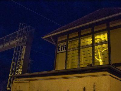Ausstellung Along the Lines im Stellwerk Erkner (ERK)