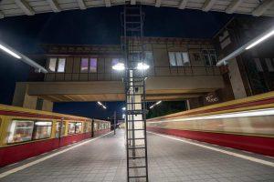 Along the Lines S-Bahn Tempelhof