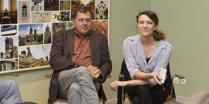 Natalia Irina Roman und Frank Eckardt